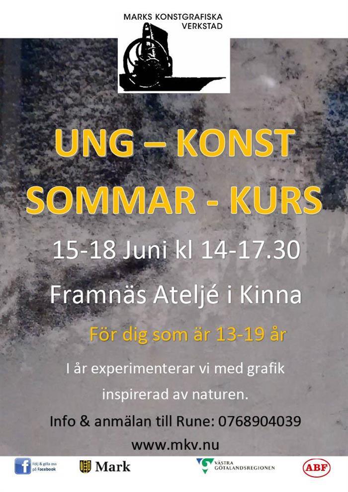 Ung - Konst - Sommar - kurs