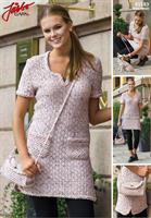 Damklänning och väska i Fuga Tweed