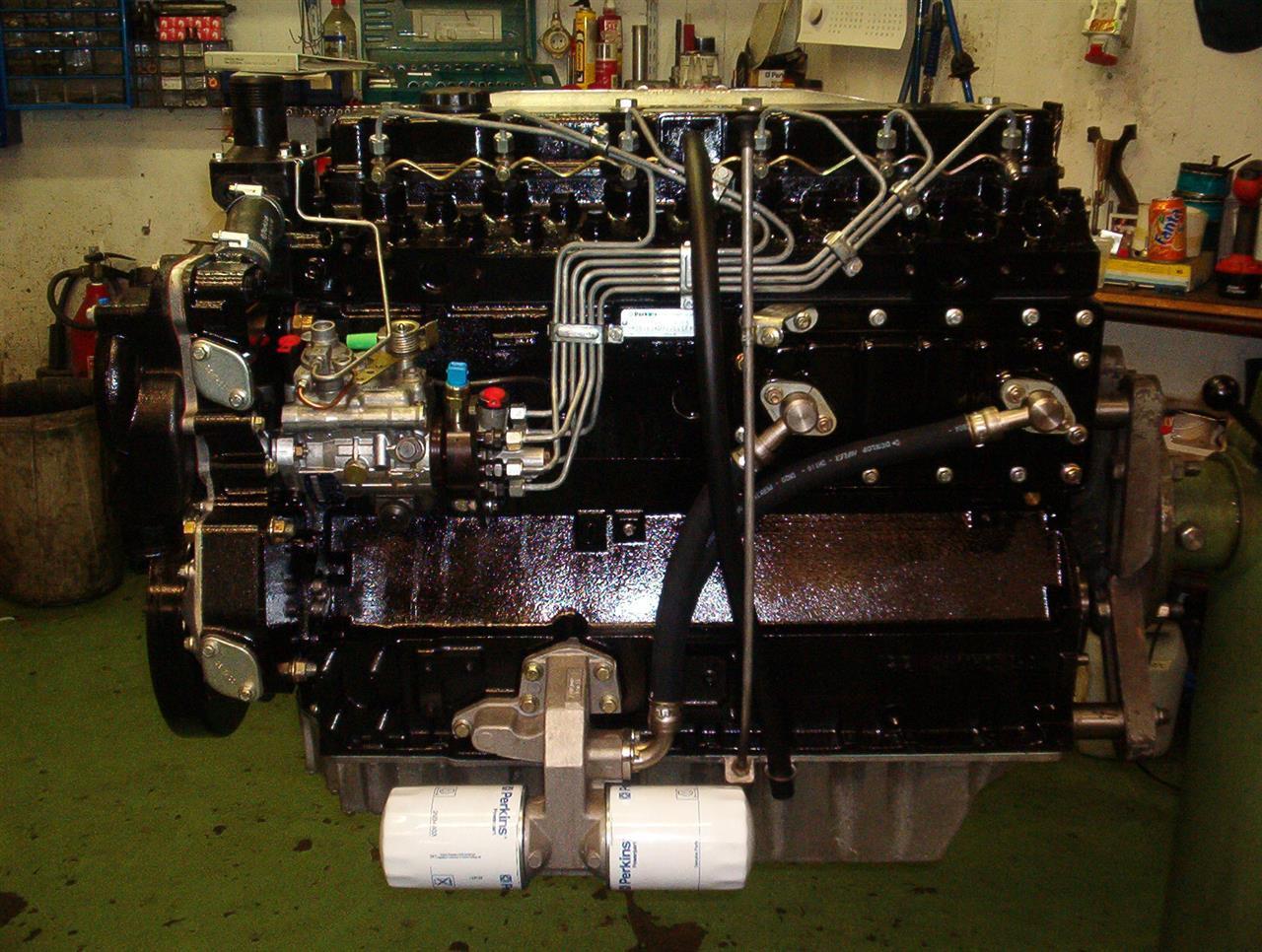 Perkins New 1000 Series motor