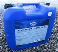 Fuchs Titan SuperSyn Longlife 5W-40, 20l