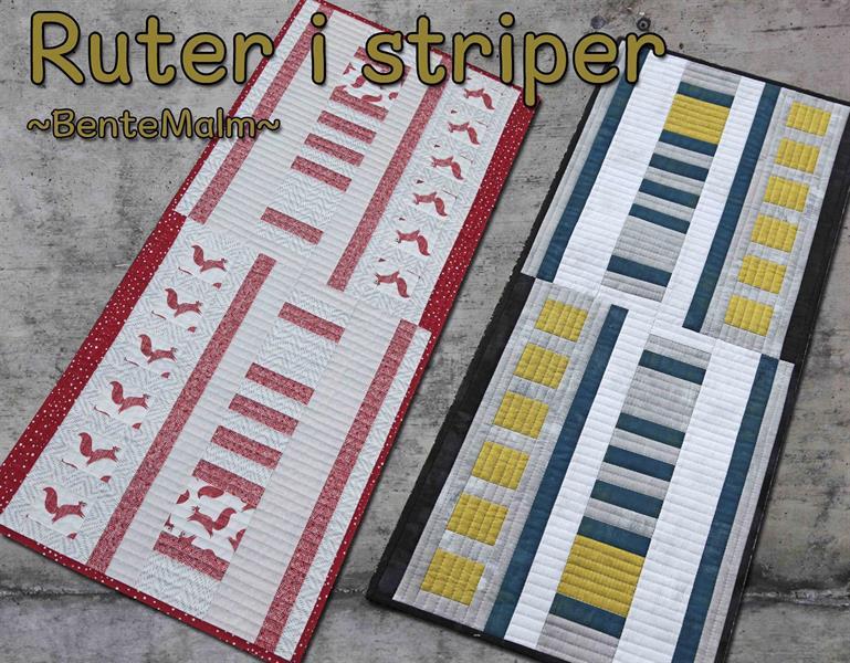 235 Ruter i striper