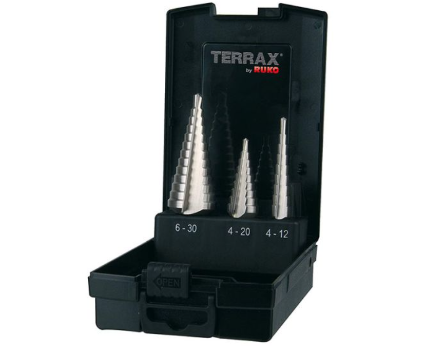 Stegborrset Terrax 4-30mm