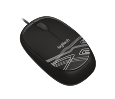 Logitech M105 USB Mouse Black