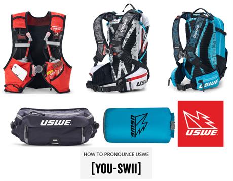 Vi blir återförsäljare av USWE:s produkter - Backpacks m.m. för både sommar- och vinteraktiviteter!