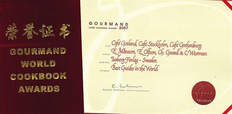 Gourmand 2007-diplom