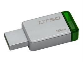 Kingston DT50 16GB USB 3.1 Metal/Green