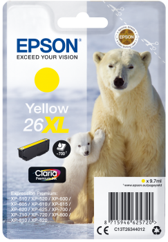 Epson 26XL Yellow