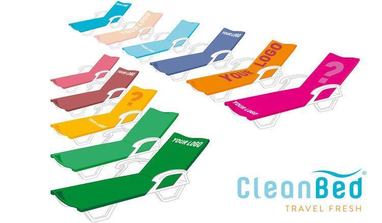 Clean Bed solsängsöverdrag som reklamartikel