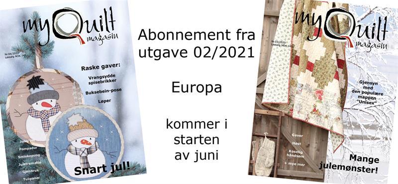 Abonnement-Europa fra utgave 2/2021