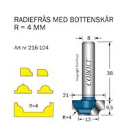 Radiefräs R=4, L=9,5