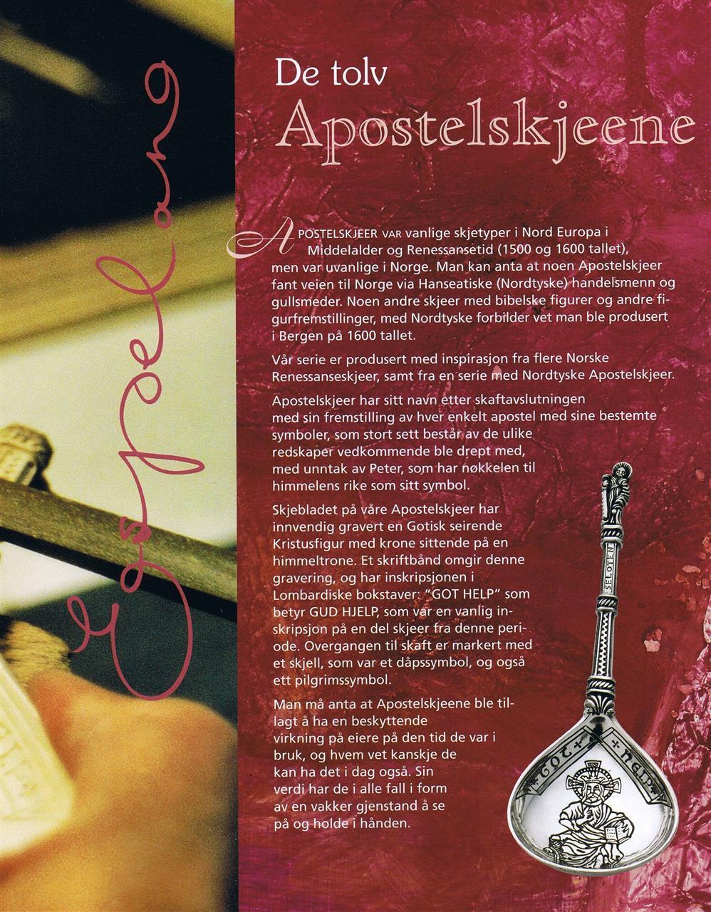 Apostelskjeer Apostlespoons