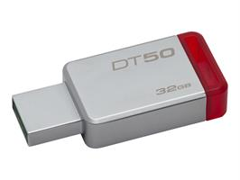 Kingston DT50 32GB USB 3.1 Metal/Red