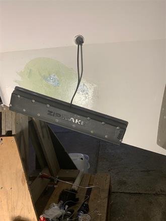 Installation av zipwake