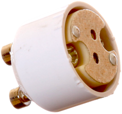 Adaptersockel från GU10 till G4 / GU4