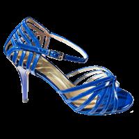 Naisten siniset tanssikengät