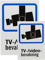 Skylt TV/Video-bevakning A4 & A5