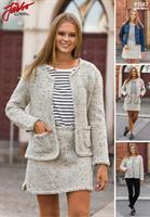 Jacka o kjol i Chanelstil i Fuga Tweed
