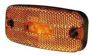 Sidomarkeringslykta Hella/Talmu, LED 12V