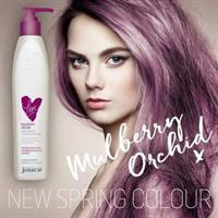 Juuce conditioning colour treatment mulberry orchid