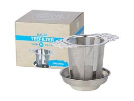 Durable strainer with rest