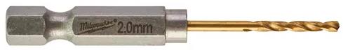 Milwaukee Metallborr SW HSS-G Tin 2,0mm 2st/frp