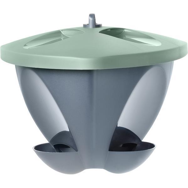 Birdie fågelmatare Grön - 4 lit.