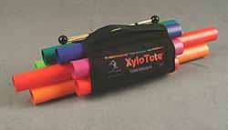 Xylotote, tonrörshållare