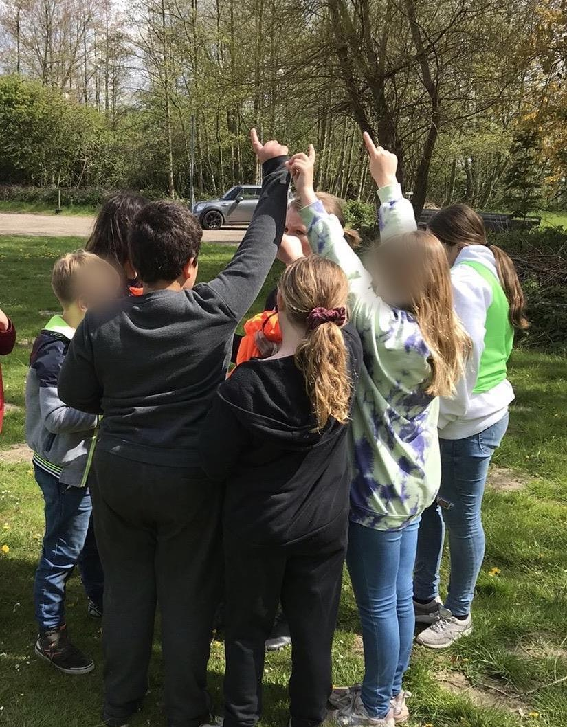 Verschillende groepsoefeningen en rollenspellen