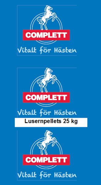 Lusernpellets Complett 25 Kg Skr
