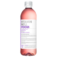 Vitamin Well Focus 12 x 50cl
