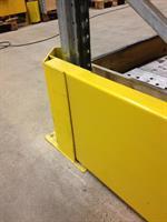 Gavelskydd 1100 mm, höjd 400 mm med plåt