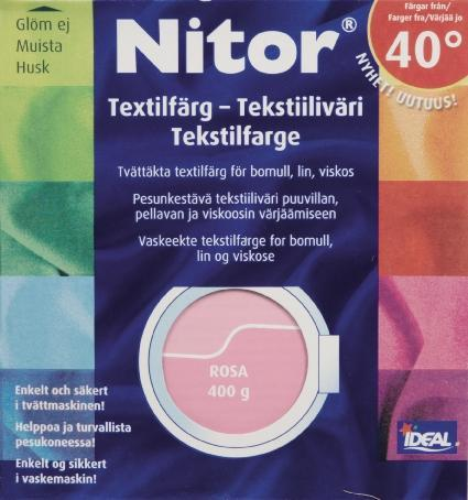 TEXTILFÄRG ROSA 31 NITOR