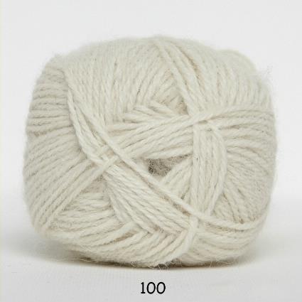 Kinna Textil Hjerte Alpacka vit