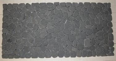 MARMORLÖPARE 30x60cm svart