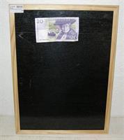 GRIFFELTAVLA 30x40cm magnetisk