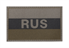RUSSIA FLAG PATCH OD