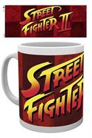 Street Fighter, Logo, Mugg