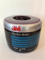 3M Scotch-Brite Pre-Cut Veryfine CF-SR, A VFN, Röd, 115 x 150 mm 07903