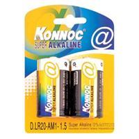 Batterier Konnoc 2xLR20 Ni-Mh