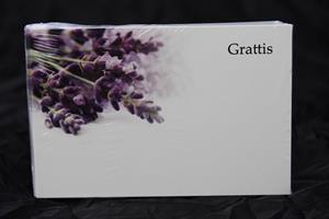 Oasis Kort Grattis Lavender
