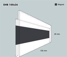 Etiketth. EHB 100-26F rak mag