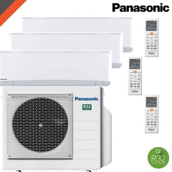 Test av Panasonic 3Z68 TBE med 3 stk Z25TKEW innedeler