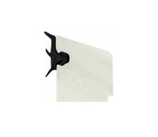 PVC glasslist 16x17 mm hvit m/tettelist - 240 cm