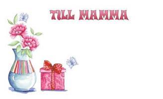 Kort Till Mamma 100/fp