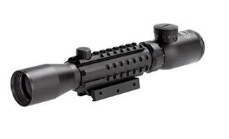 Sun Optics Kikarsikte Tri-Rail Tactical. 3-9x32Belyst