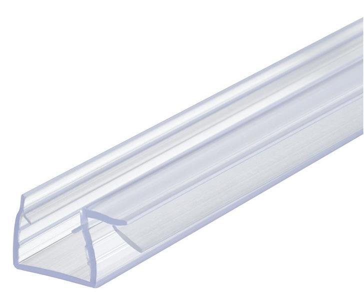 Kantlist med 10 mm anslag - for 12 mm glass