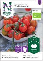 Tomat Körsbärs- 'Zuckertraube' Organic
