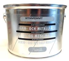 Järn&Metallfärg  Vit..3 L