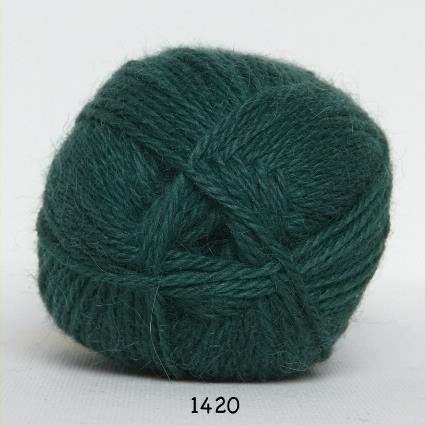 Kinna Textil Hjerte Alpacka mörkgrön