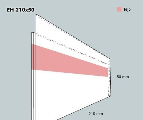 Etiketthållare EH 210-50F